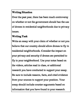 Essay about your community