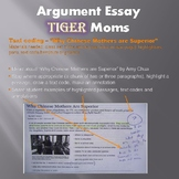 Argument Essay (Tiger Moms!) - High Interest Middle School Writing Assignment