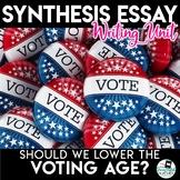 Argument Essay Unit - Should We Lower the Voting Age?