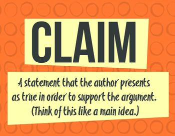 Argument Essay Vocabulary