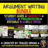 Argument Essay Writing BUNDLE Editable Google Drive Distance Learning