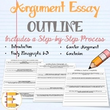 Argument Essay Writing Outline (Step by Step Process)