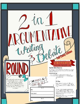 Argument Essay Writing and Debate 2 in 1 (Full Edition)