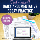 Argumentative Essays Daily Essay Review ~ Text-based!