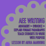 Argument > Evidence > Explain Paragraph Writing Practice