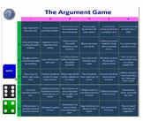 Argument Game (Practise persuasive / exposition / debating language)