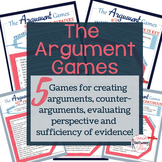 Argument Games - A Fun Way to Get Students Practicing Their Argument Skills!