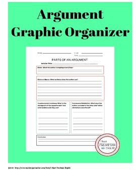 Argument Graphic Organizer-Freshman