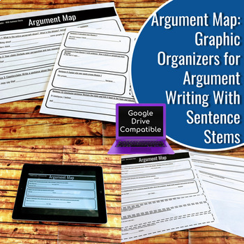 Argument Map Bundle: With and Without Sentence Stems - Differentiated