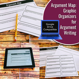Argument Map: Graphic Organizers for Argument Writing