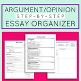 Argument / Opinion Step-by-Step Essay Organizer (Countercl