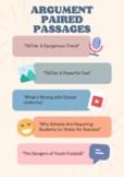 Argument Paired Passages