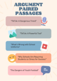 Argument Paired Passages