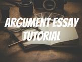 Argument Paper Walk Through Tutorial