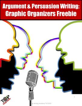 Persuasive Essay Freebie: Graphic Organizers Sample Paragraphs