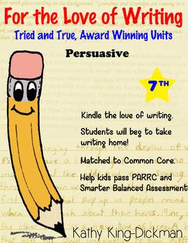Argument Persuasive 7th Grade