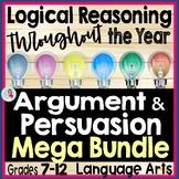 Argument & Persuasion: Persuasive Writing & Logical Fallacies Bundle Grades 8-12