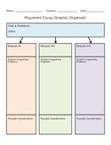 Argument Graphic Organizer | Argument Writing Planner