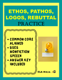Ethos Pathos Logos Counterclaim Evidence Practice