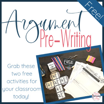 Argument Pre-Writing Activity- The Cube of Perspective