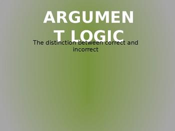 Argument Presentation