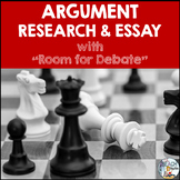 "Argument Research and Essay Unit With ""Room for Debate"""