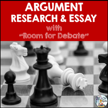 """Argument Research and Essay Unit With """"Room for Debate"""""""