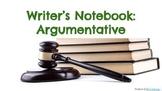 Argument Writer's Notebook