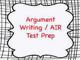 Argument Writing Practice Using Pro/Con Articles