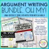 Argument Writing Bundle