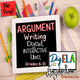 ARGUMENT WRITING FOR GOOGLE DRIVE DIGITAL INTERACTIVE