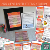 Argument Writing: Editing and Revision Stations