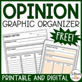 Argument Writing Graphic Organizer