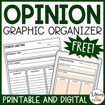 Argument Writing Graphic Organizer