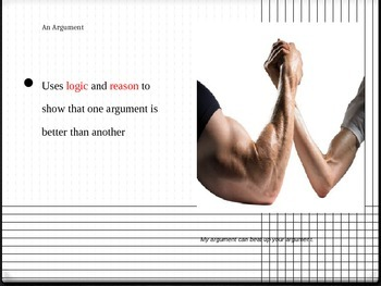 Argument Writing PowerPoint
