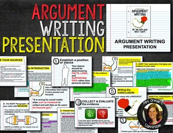 Argument Writing Presentation