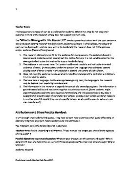Argument Writing & Revising