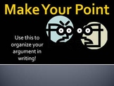 Argument Writing Step-by-Step Brainstorming