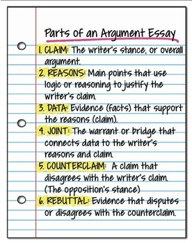 What is argumentative essay