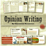 Opinion Writing Unit Distance Learning