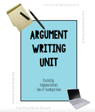 Argument Writing Unit for Middle/High School