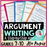 Argument Writing and Analysis Mini-Unit