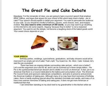 Argument and Rhetoric: Persuasive Writing Mini-Lesson
