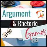 Argument and Rhetorical Analysis Games for Secondary ELA