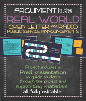 Argument in the real world: letters to the editor and PSAs