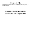 Argumentation: From My Files (Includes a Quiz and a Test)