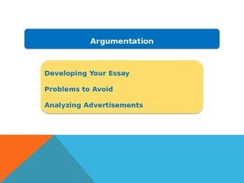 Argumentation Overview