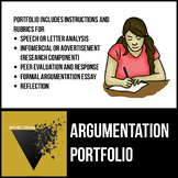 AP English Language and Composition Argumentation Portfolio