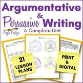 Argumentation & Persuasion {PDF & Google Slides for Distan