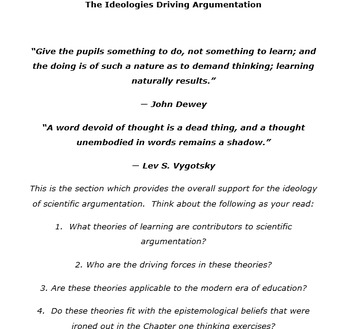 Argumentation in Education - Full Book